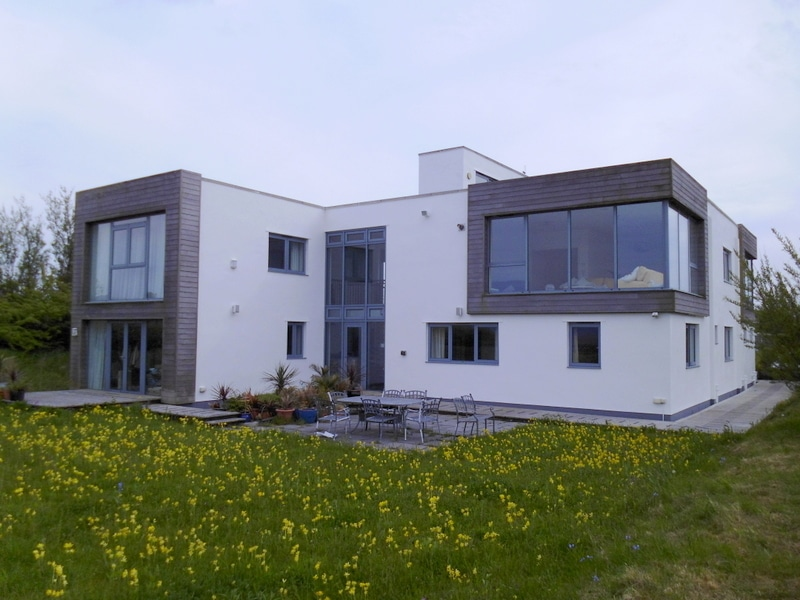 Contemporary Lake District home sealed against marine environment with Andura